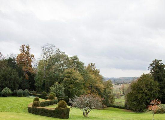 Hale Park grounds looking toward Wiltshire]