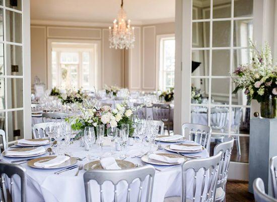 Hale Park Weddings reception rooms